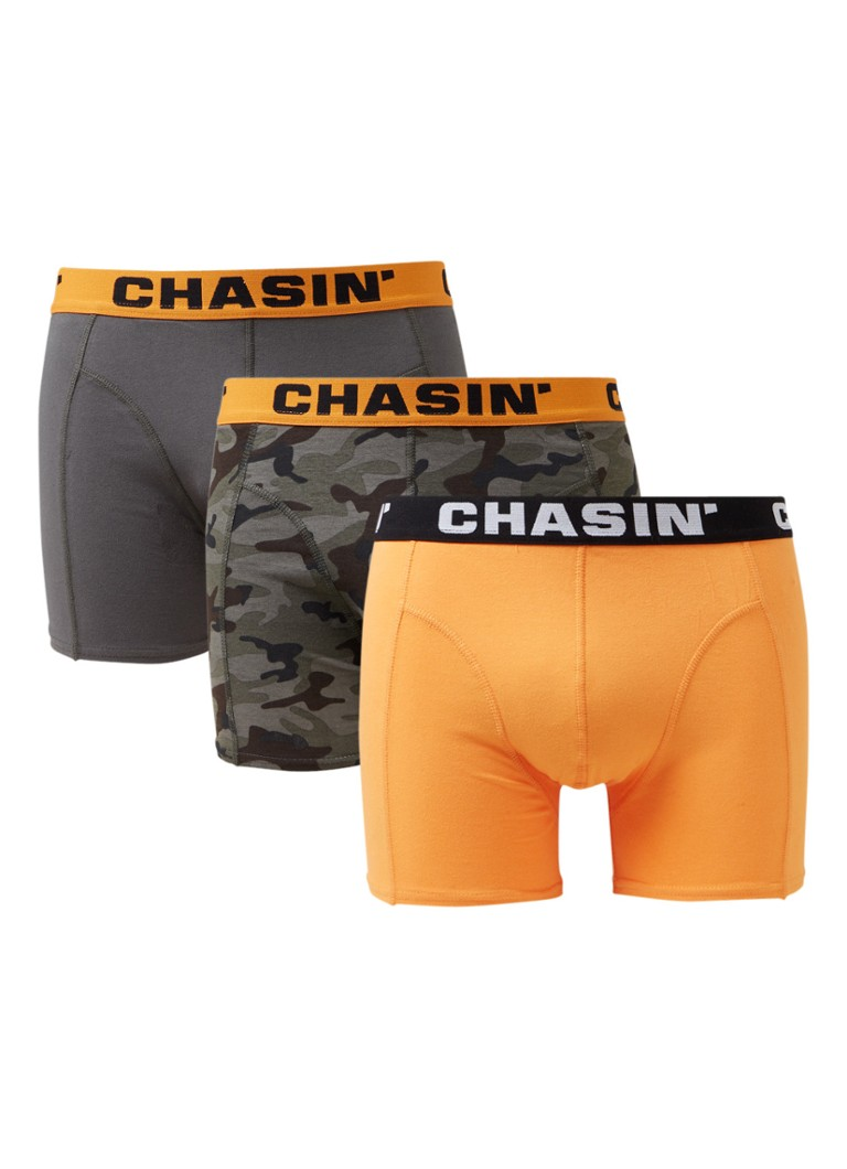 CHASIN' Thrice Armory boxershorts in 3-pack