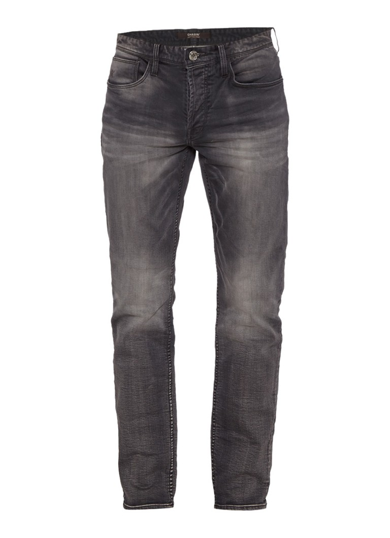 Chasin EGO Tapered Shade tapered fit jeans in grijs