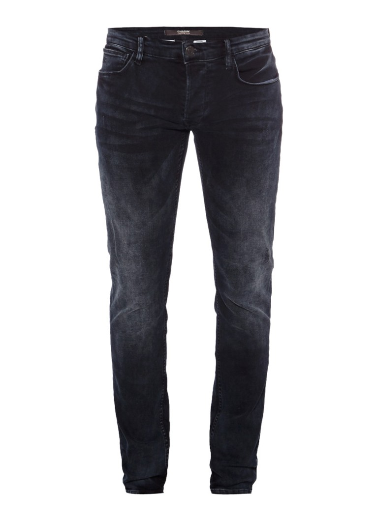 Chasin EGO Slim Raven low rise slim fit jeans