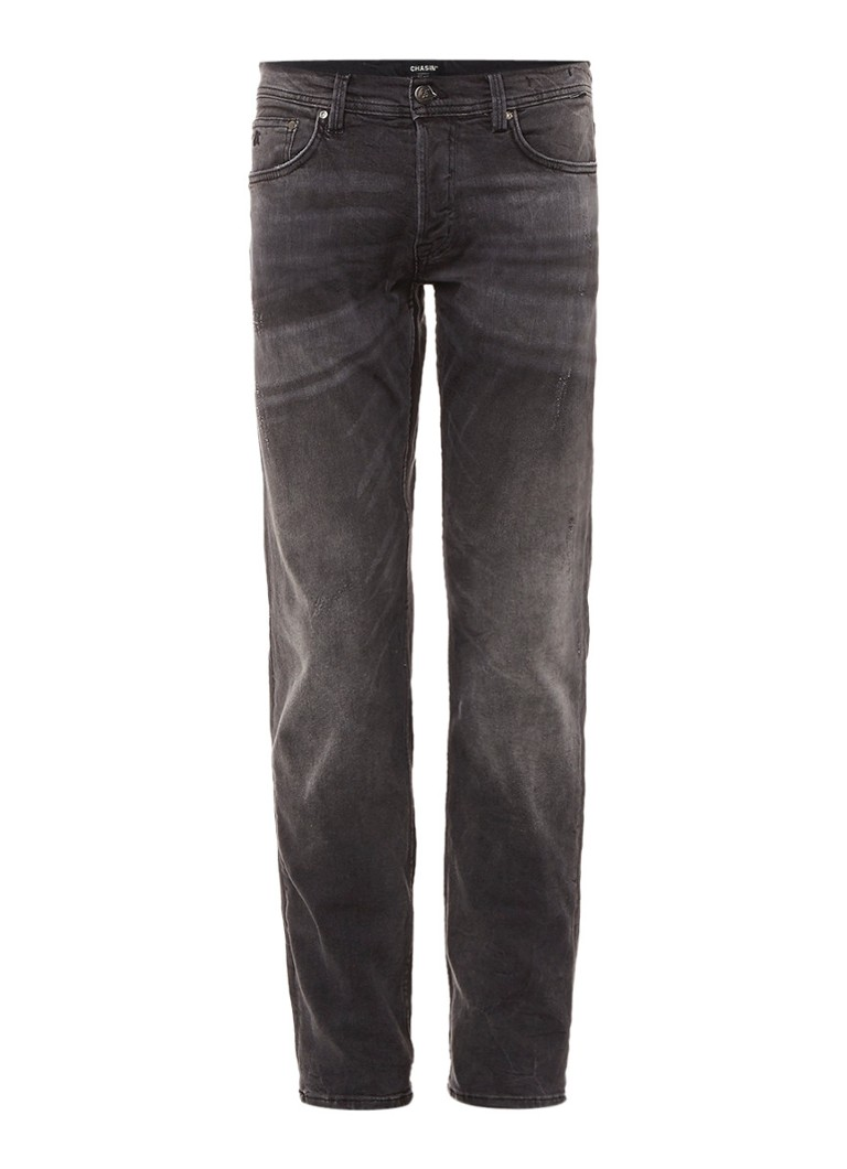 Chasin EGO Tapered Elm slim fit jeans met tapered leg