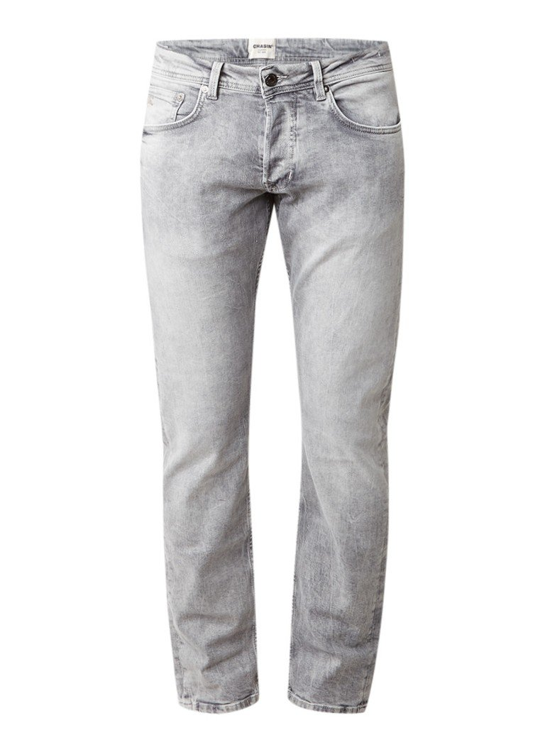 Chasin EGO Tapered Adit tapered fit jeans met faded details