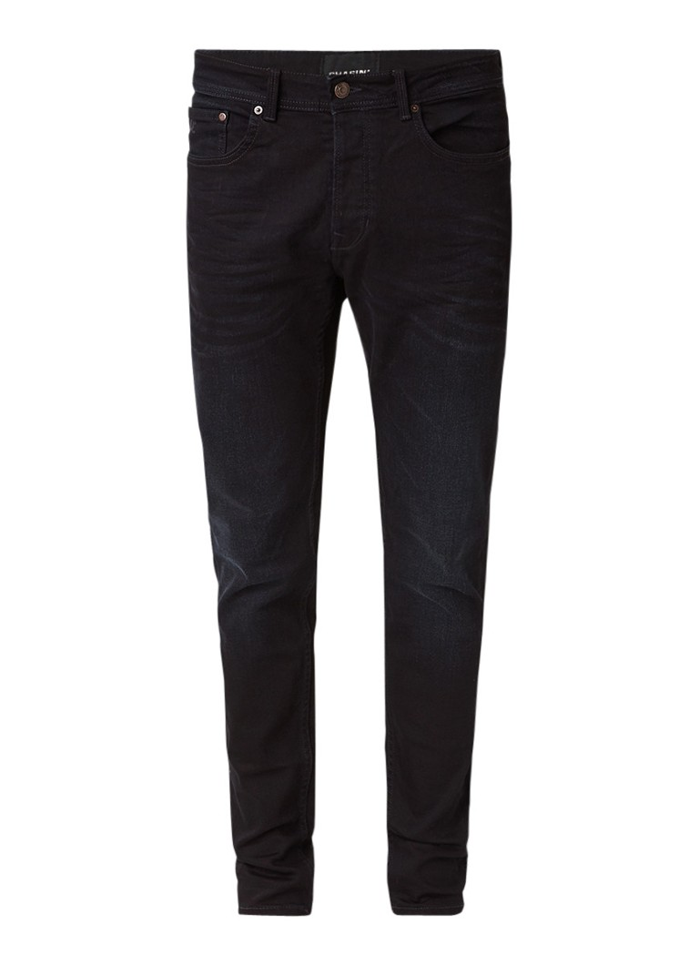 Chasin Ego tapered fit jeans met donkere wassing