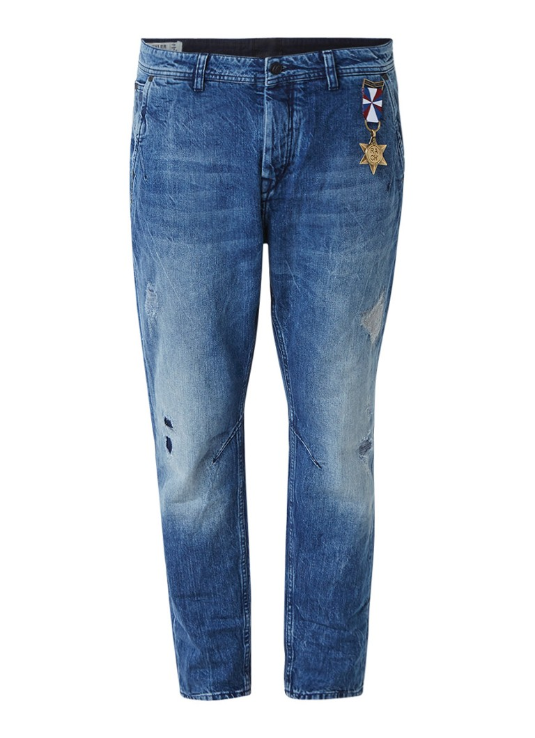 Chasin Tyler long rise cropped slim leg jeans