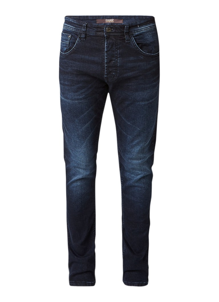 Chasin Crown Bridge regular slim fit jeans met faded finish
