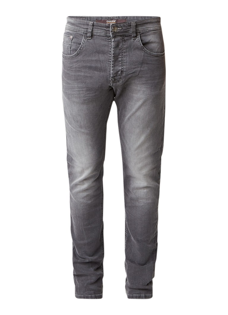 Chasin Crown Depth regular slim fit jeans met faded finish