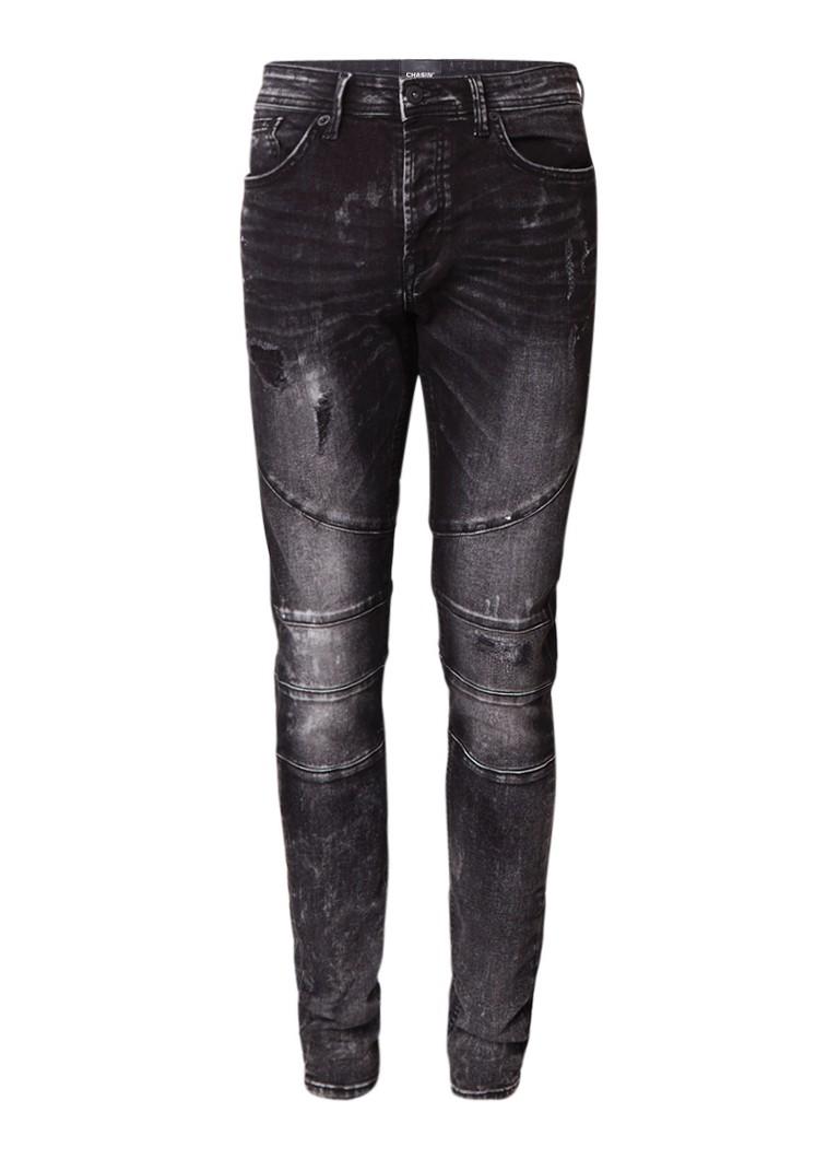 Chasin Lamar slim fit jeans met donkere wassing