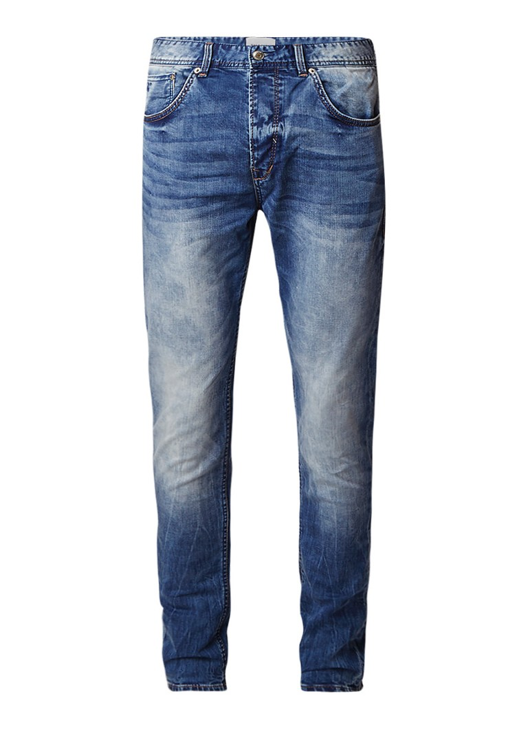 Chasin Ross tapered fit jeans met medium wassing