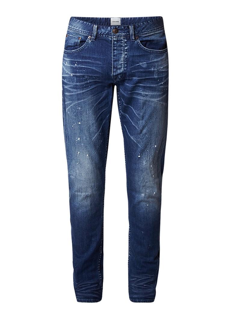 Chasin Franklin skinny jeans met verfspetters