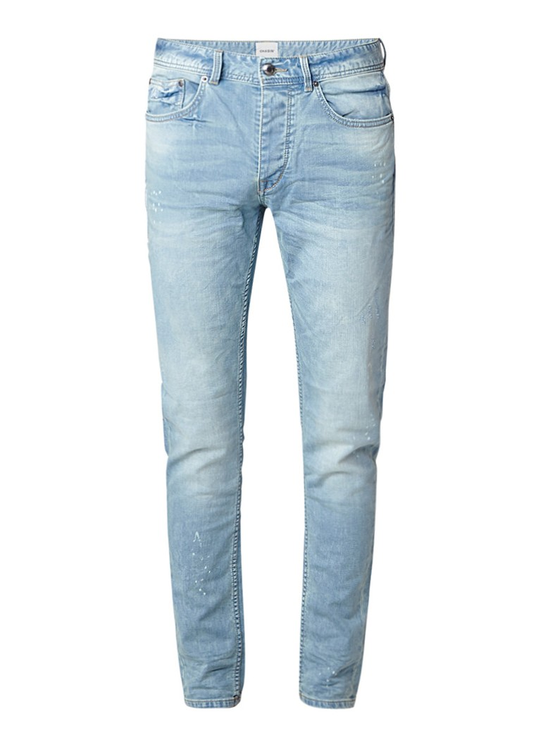 Chasin Ross Brea tapered fit jeans met faded look