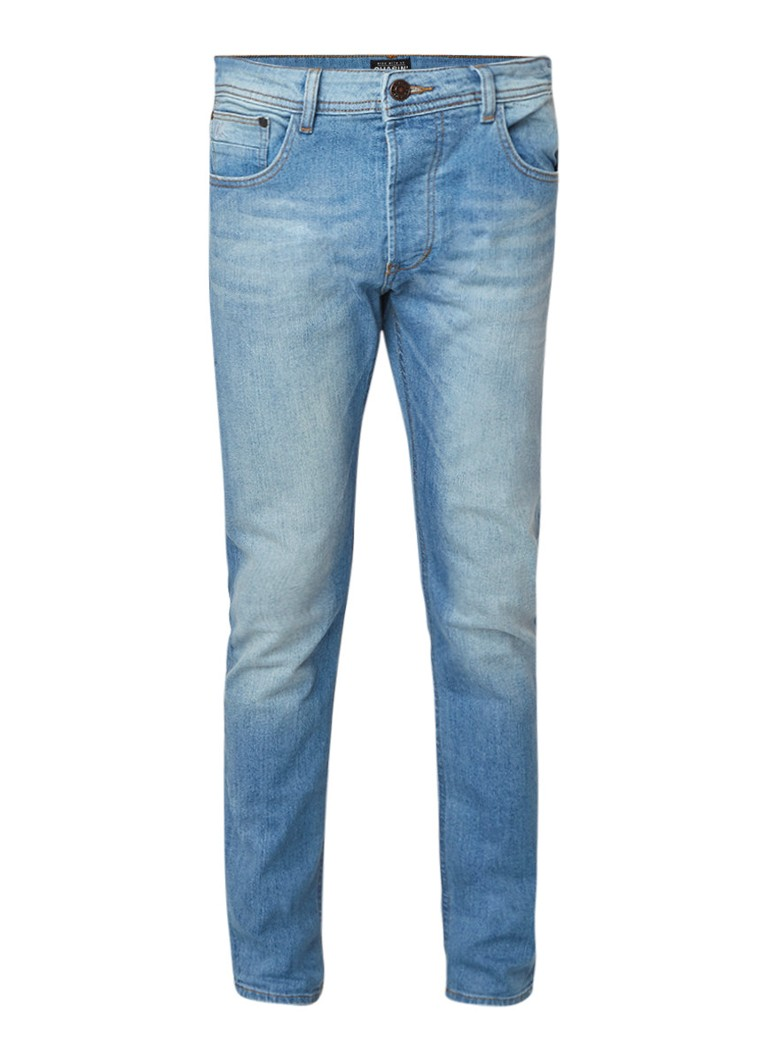Chasin Crown tapered fit jeans met stretch