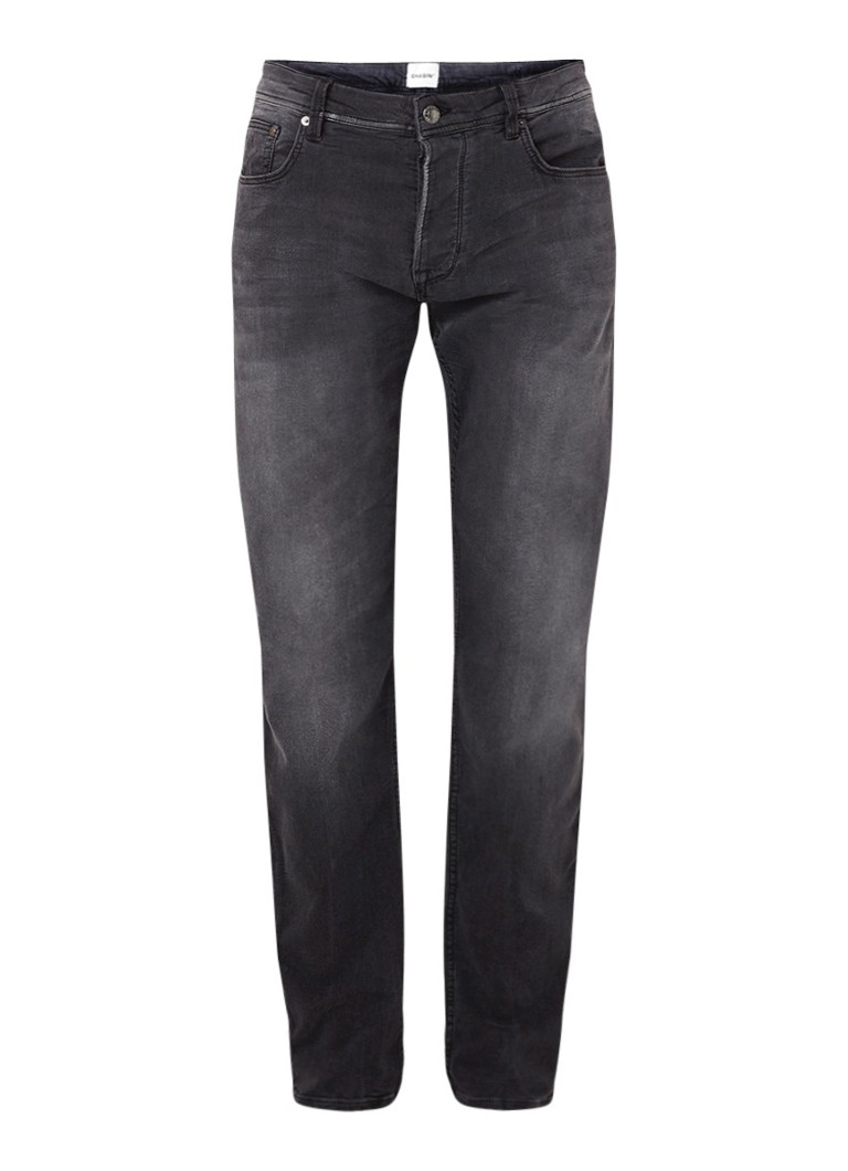 Chasin Ross low rise tapered fit jeans met faded look