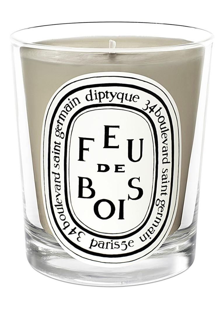 diptyque Feu de Bois mini geurkaars kopen