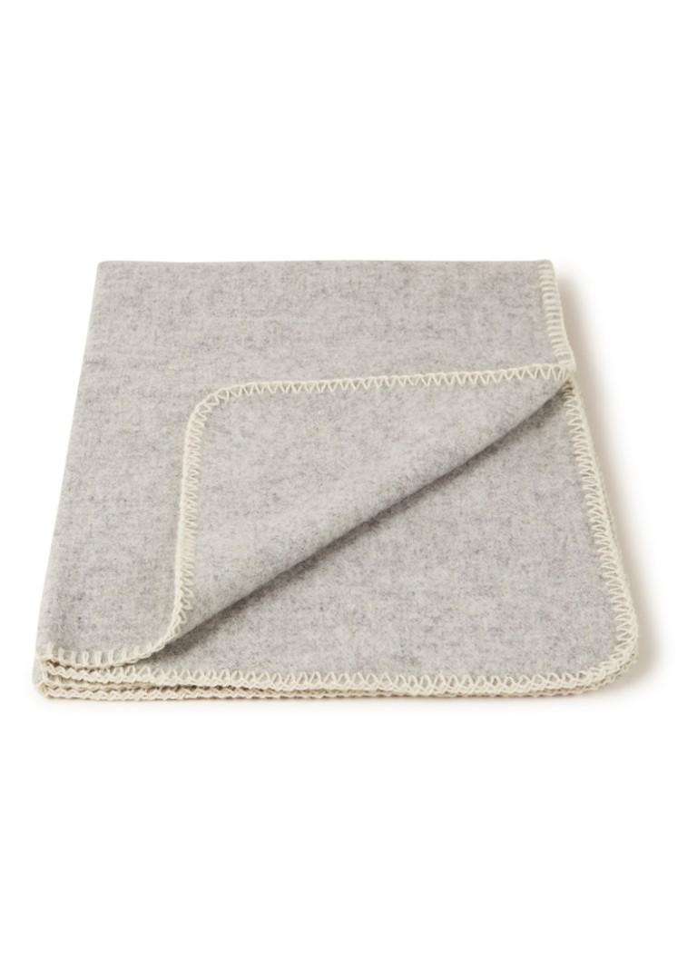 Klippan Soft Wool wiegdeken in merino wolblend 65 x 90 cm