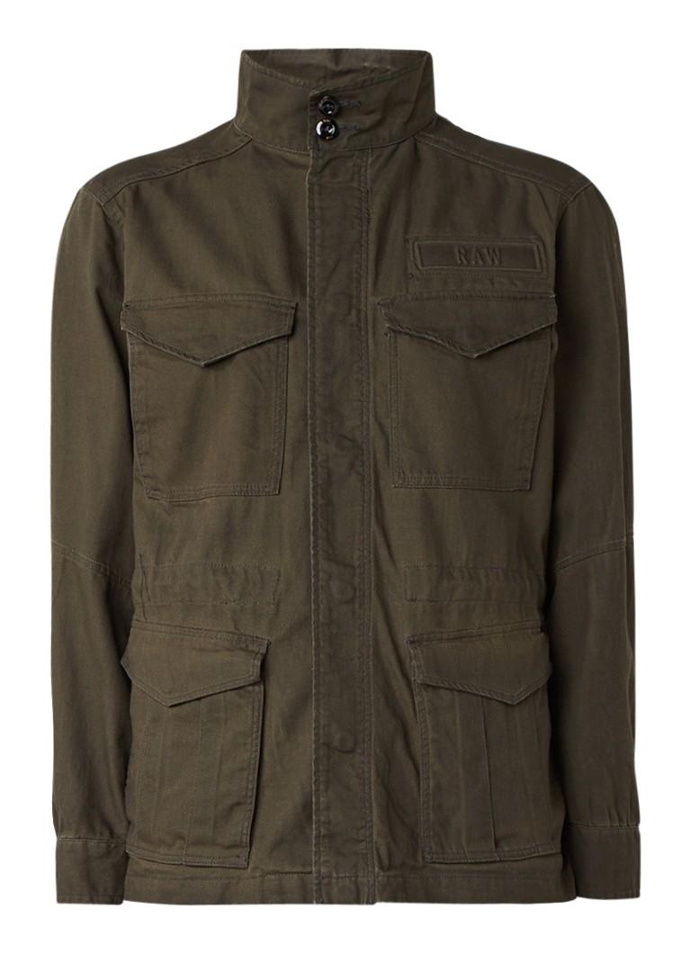 G-Star RAW Rovic field jacket met opstaande kraag