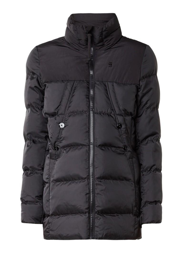 G-Star RAW Whistler gewatteerde winterjas zwart
