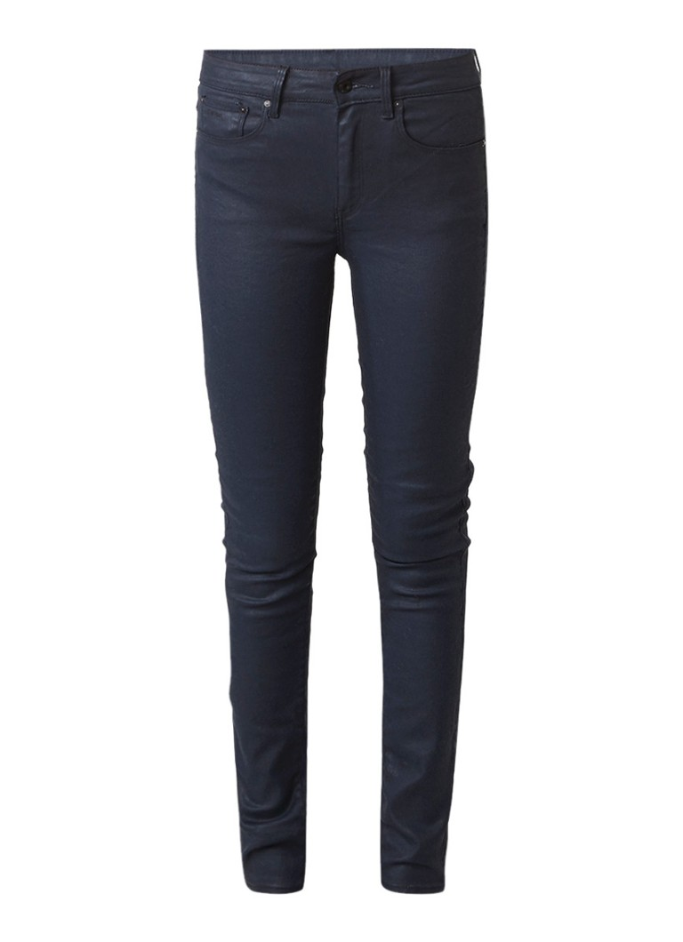 G-Star RAW 3301 high rise slim fit jeans met coating