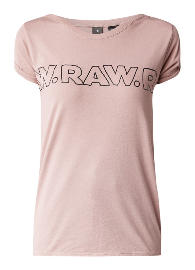 G-Star RAW Mulak T-shirt met logoprint