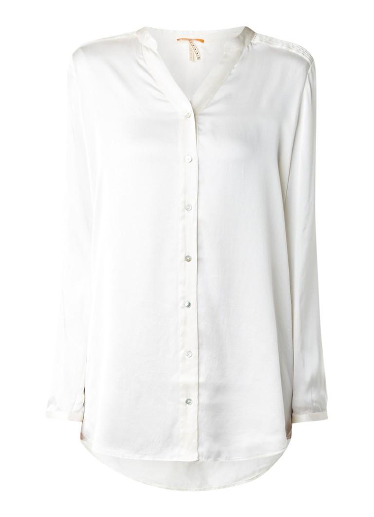 HUGO BOSS Ejustere blouse van zijde