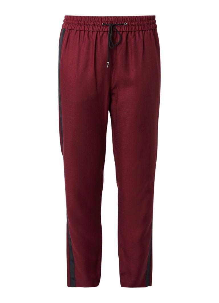 HUGO BOSS Soggie pantalon met contrasterende bies