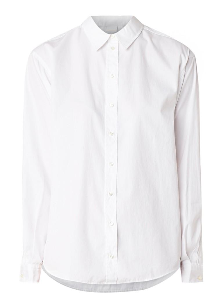 HUGO BOSS Emaine blouse van katoen