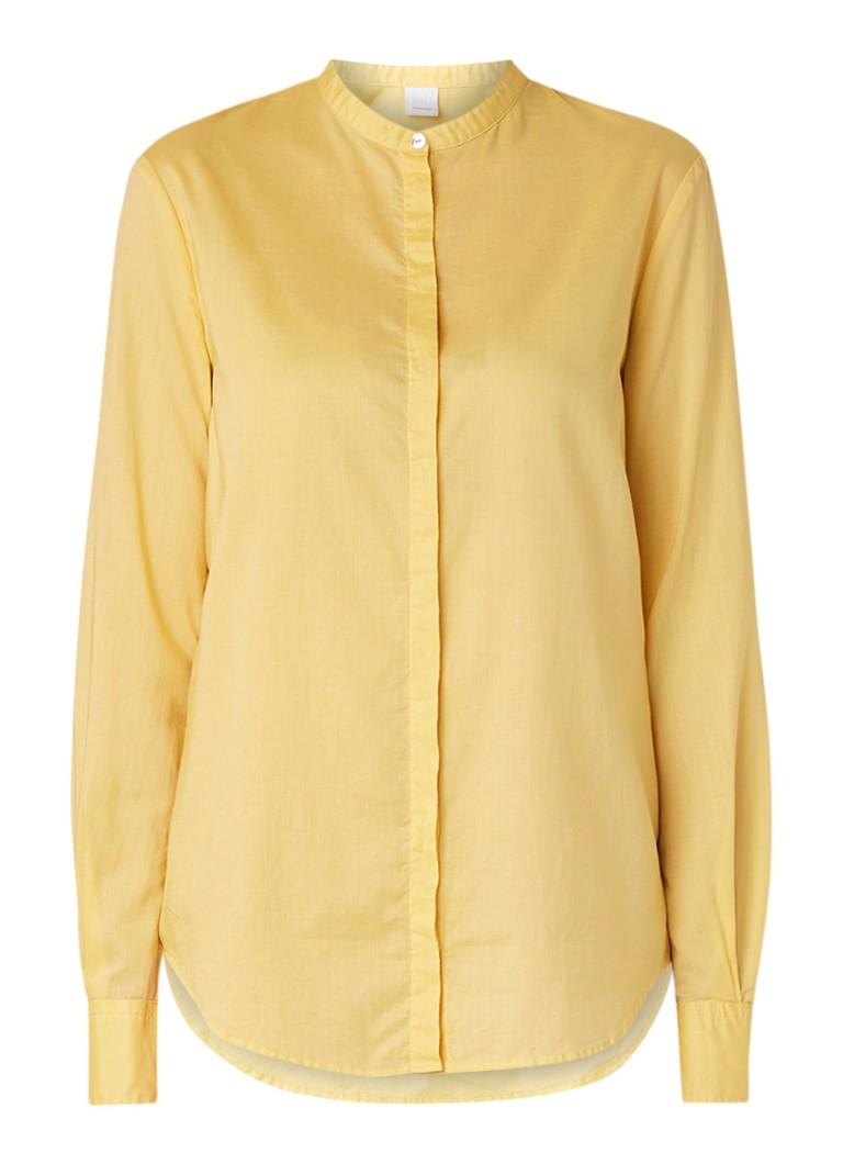 HUGO BOSS Efelize loose fit blouse in katoenblend