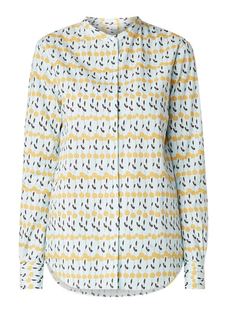 HUGO BOSS Efelize blouse van katoen met dessin