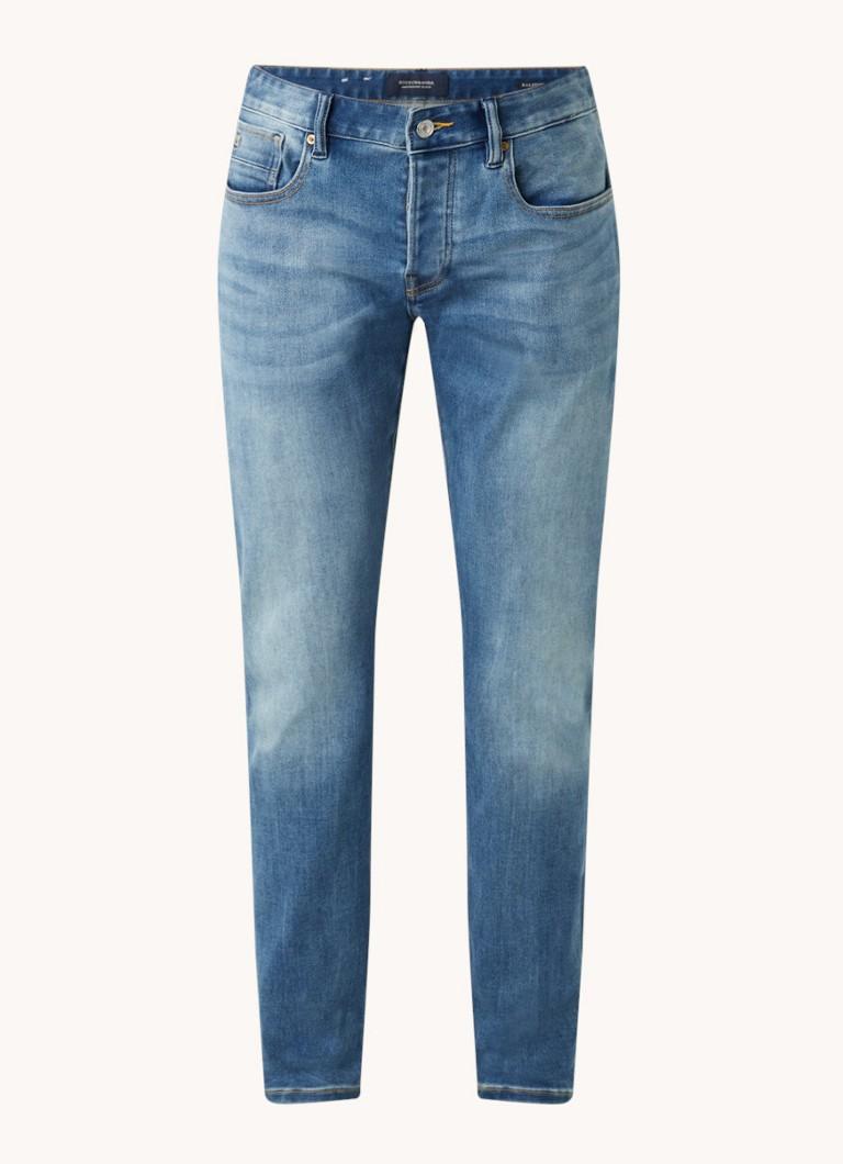 Scotch & Soda Ralston straight fit jeans in medium wassing
