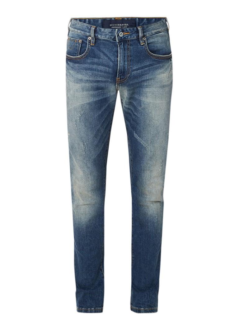 Scotch and Soda Skim slim fit jeans met stretch