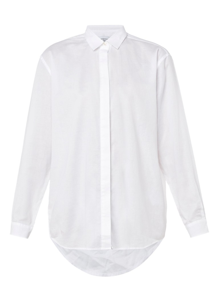 Samsøe & Samsøe CAICO Overhemd Wit