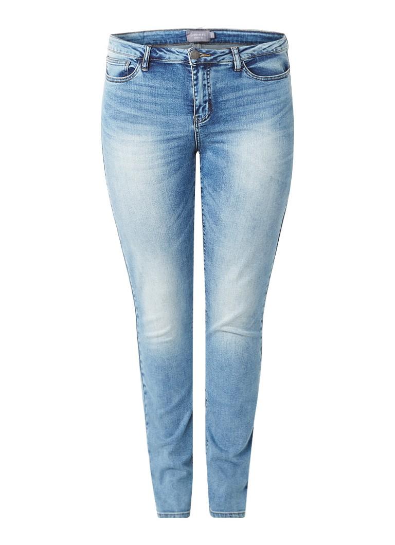 JUNAROSE Five high rise slim fit jeans met stretch