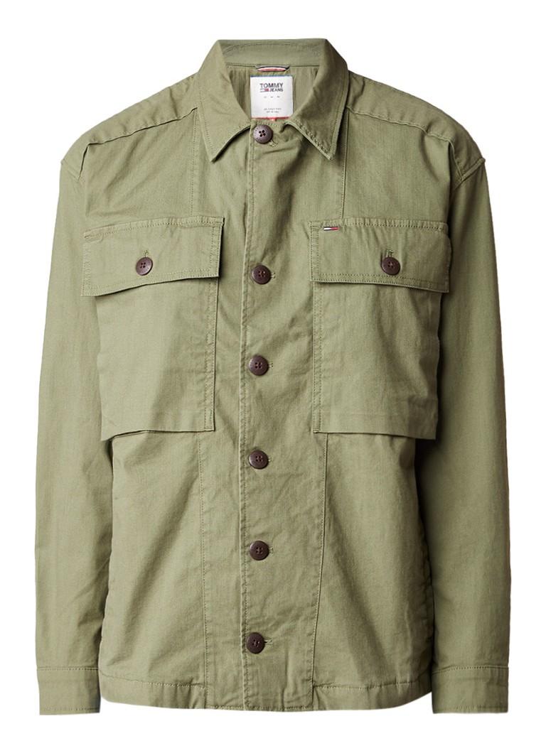 Tommy Hilfiger Field jacket met borstzak