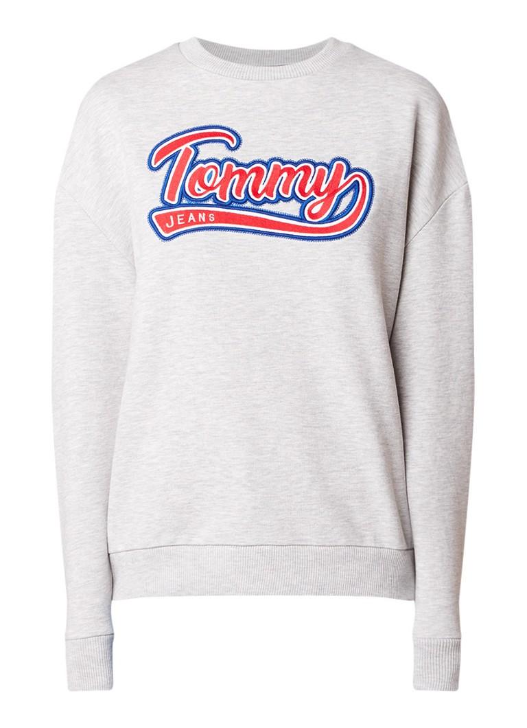 Tommy Hilfiger Lux sweater met logo-applicatie