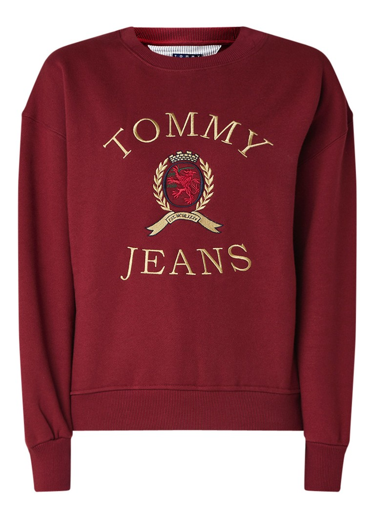 Image of Tommy Hilfiger Sweater met borduring