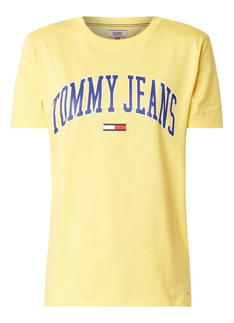 Image of Tommy Hilfiger Collegiate T-shirt met logoprint