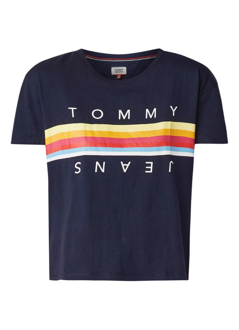 Image of Tommy Hilfiger T-shirt met streepdessin