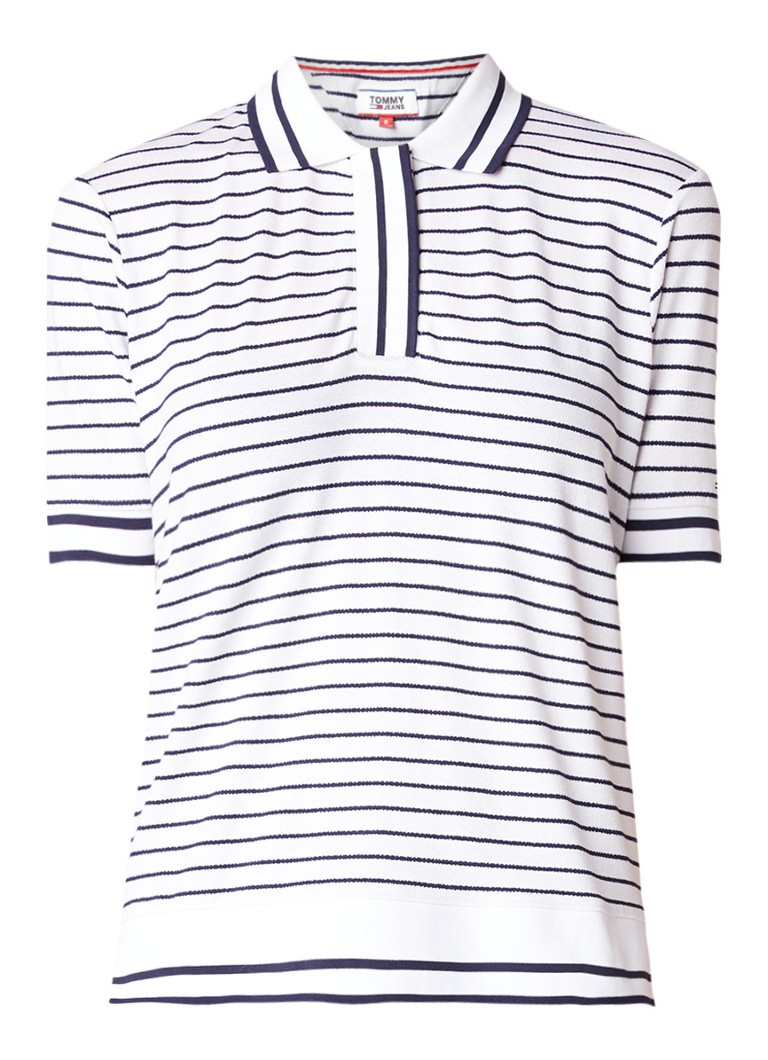 Tommy Hilfiger Polo met streepdessin