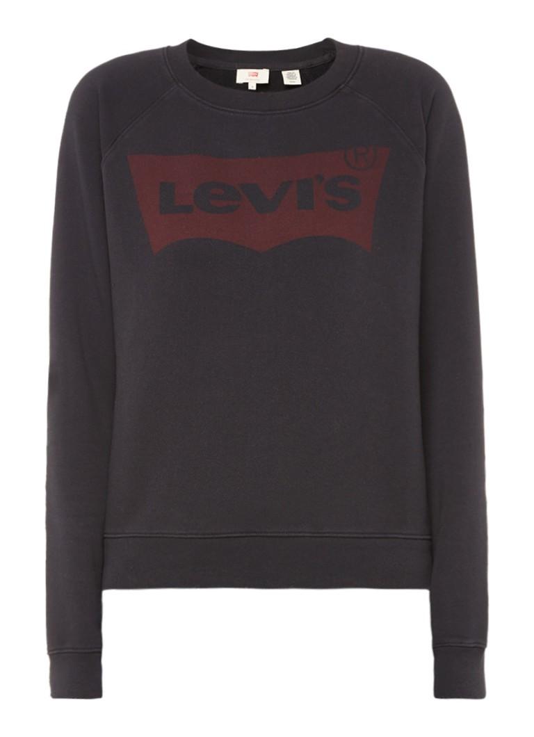 Levi's Vintage sweater met logoprint