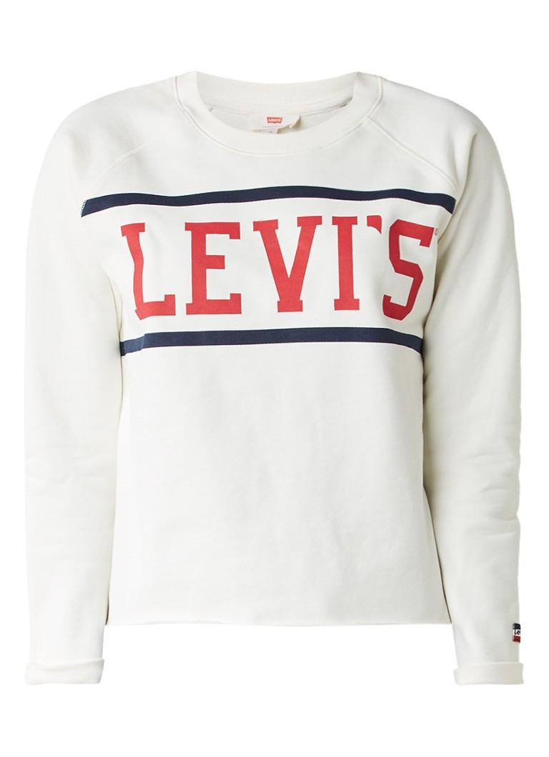 Levi's Sweater met logoprint