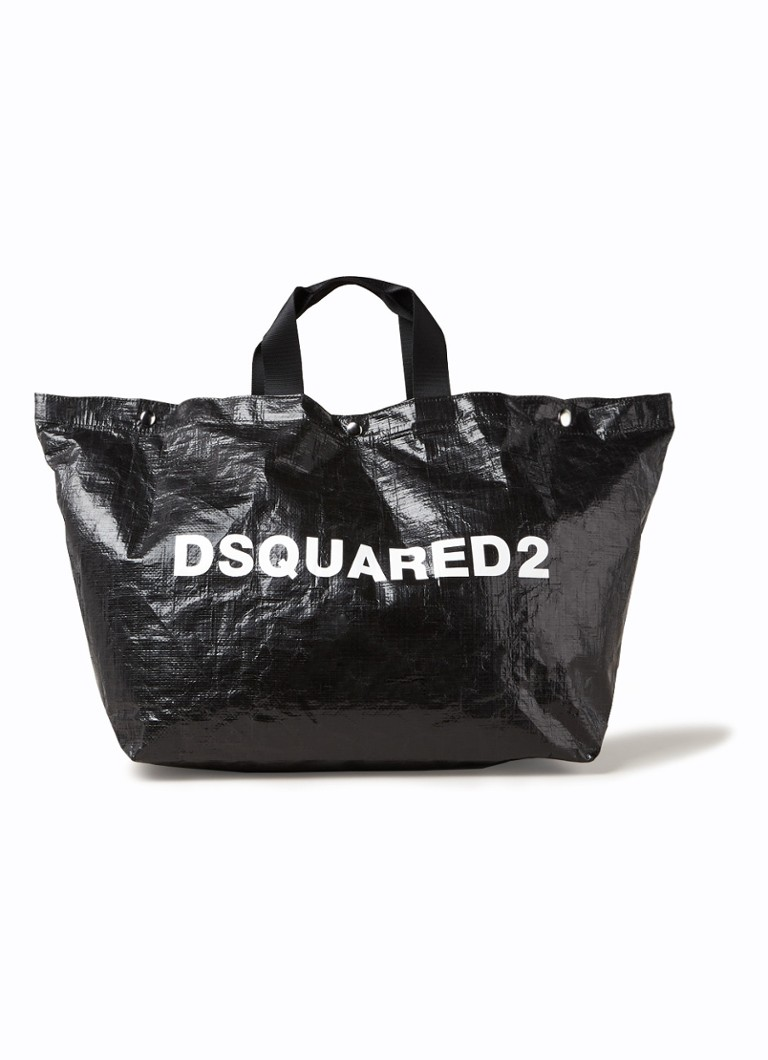Dsquared2 Crunchy shopper L met logo