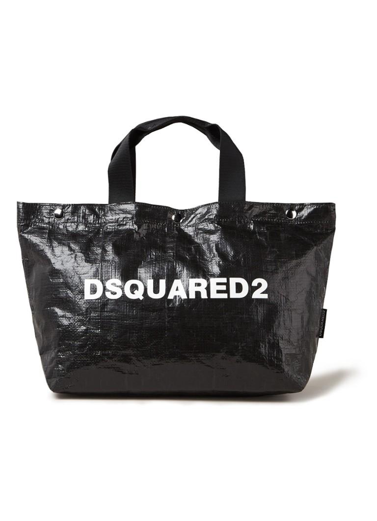 Dsquared2 Crunchy shopper met logo