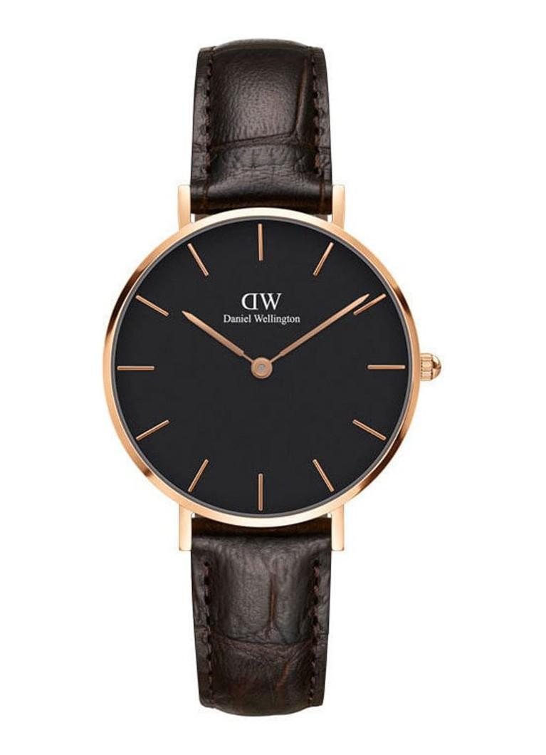 Daniel Wellington Classic Petite Black York horloge DW00100170