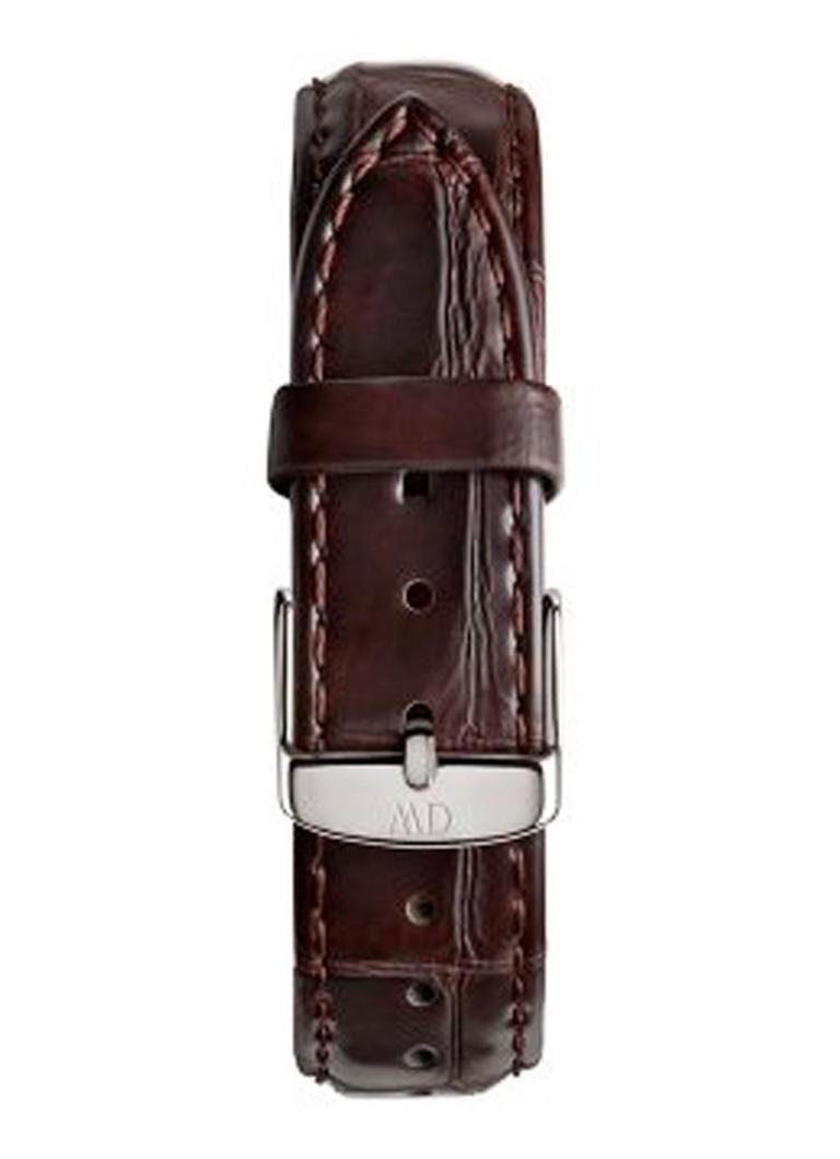 Daniel Wellington Horlogeband York Zilver 18 mm 0810DW