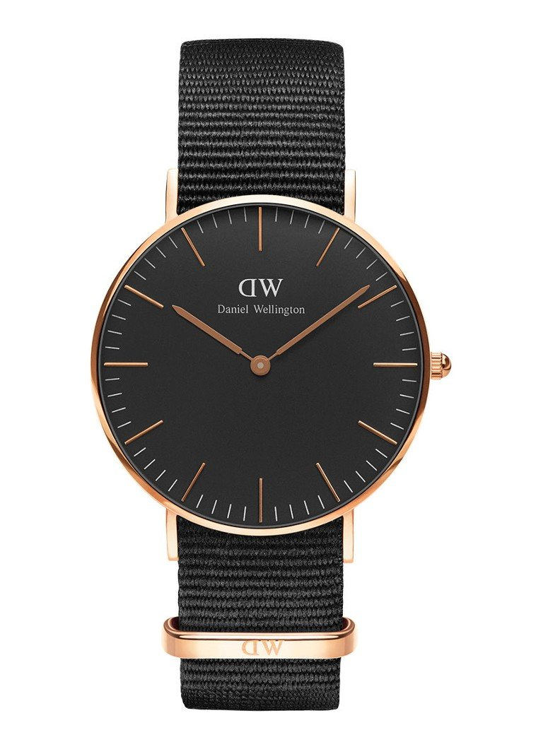 Daniel Wellington Horloge Black Cornwall DW00100150