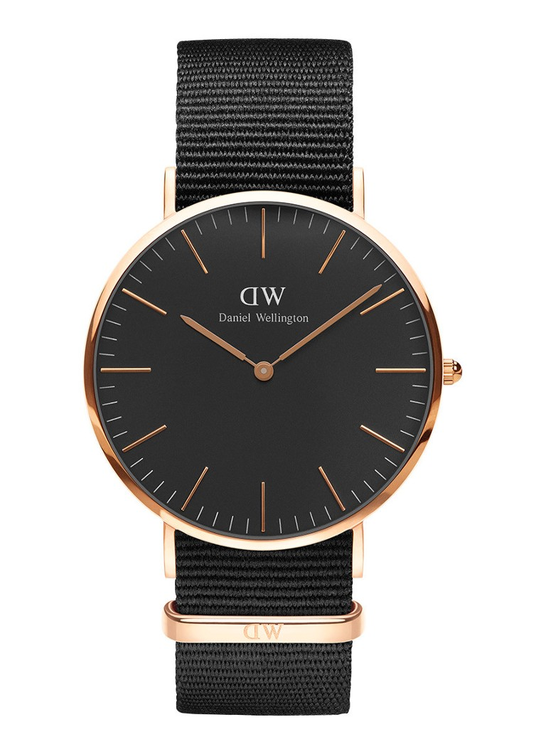 Daniel Wellington Horloge Black Cornwall DW00100148