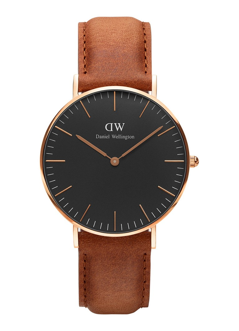 Daniel Wellington Horloge Black Durham DW00100138