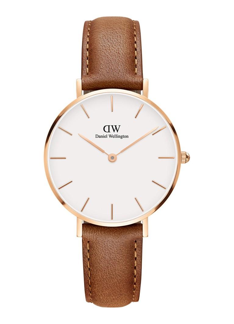 Horloges Daniel Wellington Horloge DW00100172 Bruin