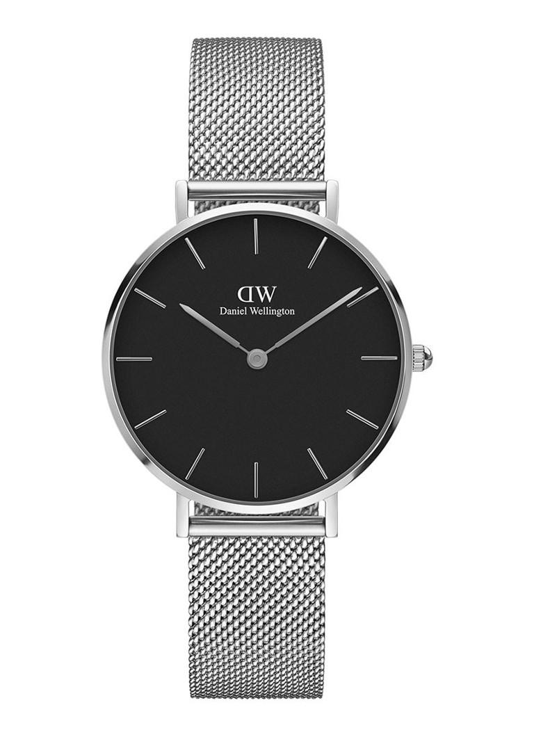 Daniel Wellington Petite Sterling Black Silver DW00100218