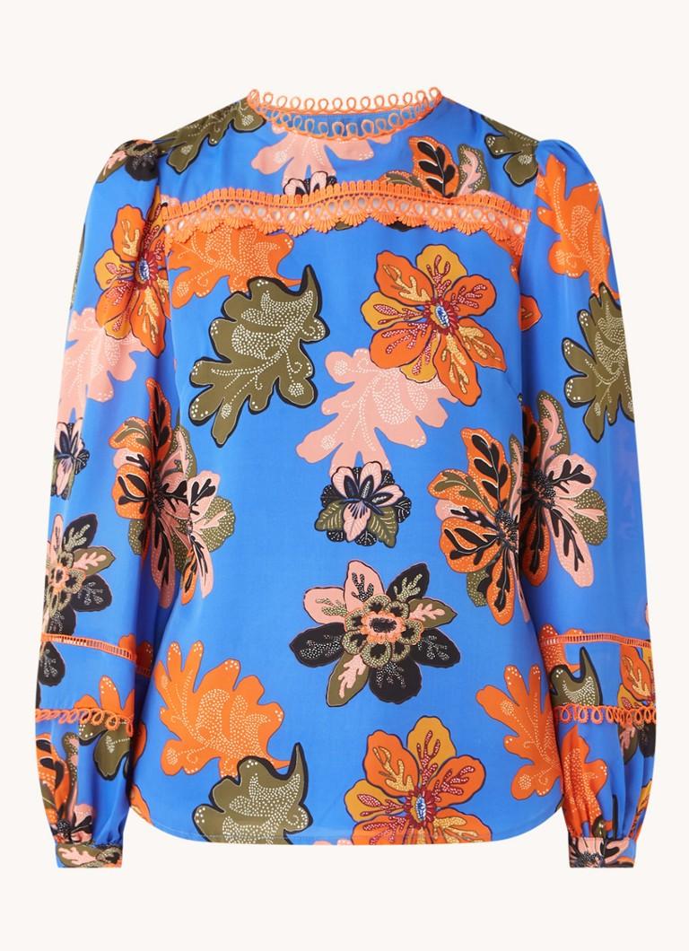 Binx blouse met bloemenprint