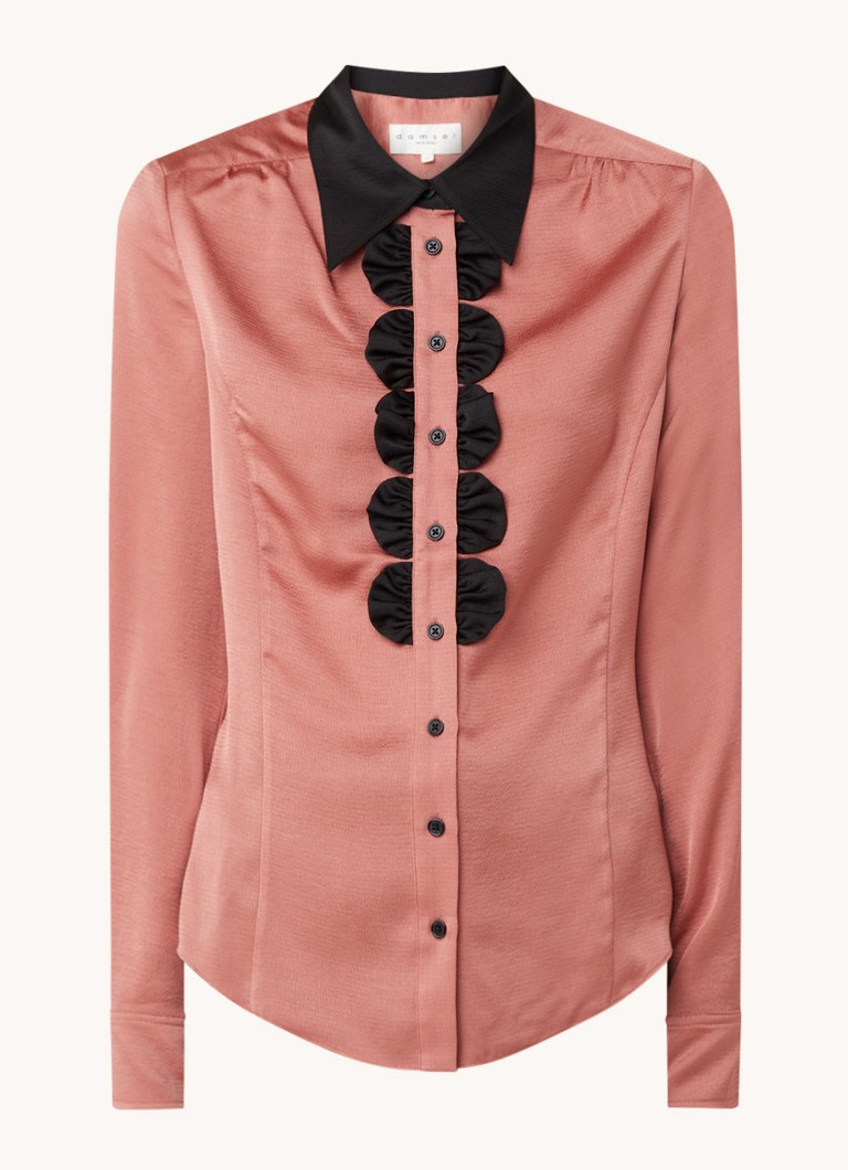 Bexley Frill blouse met ruches