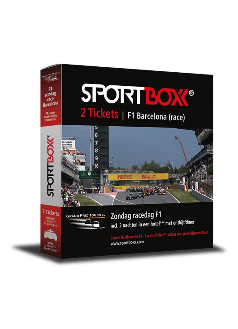 SportBoxx F1 - GP Barcelona race